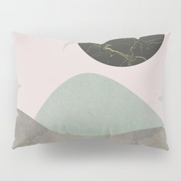 Stones and moon Pillow Sham