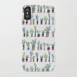 Plants in pots iPhone Case