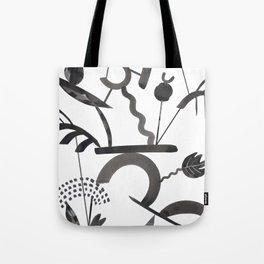 Abstract Botanica - 1 Tote Bag