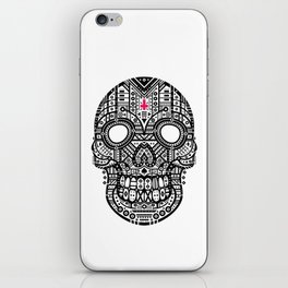 Symmetric Skull iPhone Skin