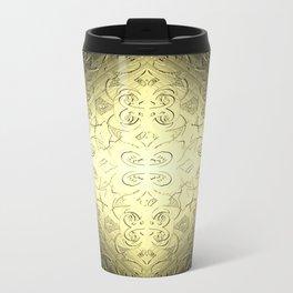 Hepburn in Gold Travel Mug