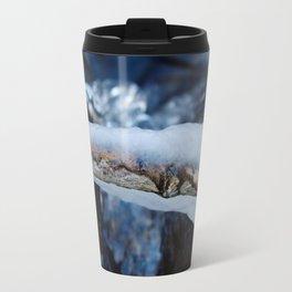 Branch in Ice Travel Mug