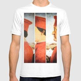 Art Remix of Piero della Francesca T-shirt