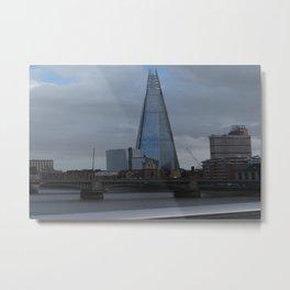 Chard of Glass Metal Print