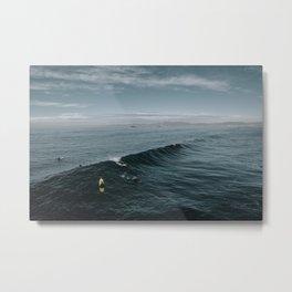 Summer Surf Session Metal Print