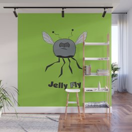 Jelly Fly Wall Mural