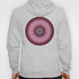 Allowing on Black Background Hoody