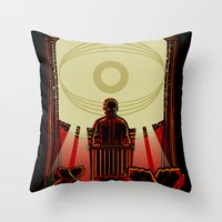 1984 Throw Pillows featuring 1984 by miles to go