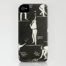gentlemen prefer tennis iPhone (4, 4s) Slim Case