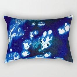 blue water splash Rectangular Pillow