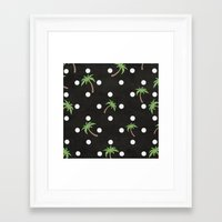 palm trees Framed Art Prints featuring Palm Trees by BTP Designs