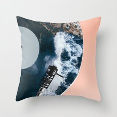 When the Needle Drops Throw Pillow