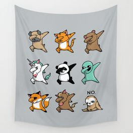 Dabbing Party Wall Tapestry