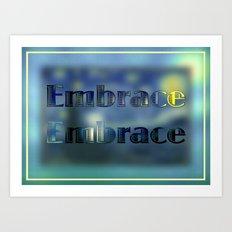 Formal Embrace Art Print