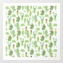Cactus Pattern by lavieclaire