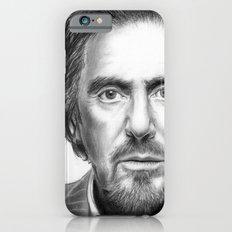 Al Pacino Portrait iPhone 6s Slim Case