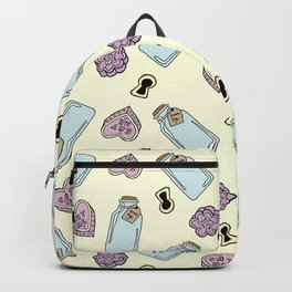 Eat Me, Drink Me - Yellow Backpack