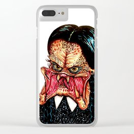 Wednesday Predator Clear iPhone Case
