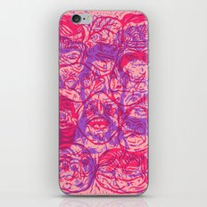 Overlapping Buds iPhone Skin