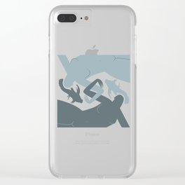 Pisces (Feb 18 - Mar 20) Clear iPhone Case