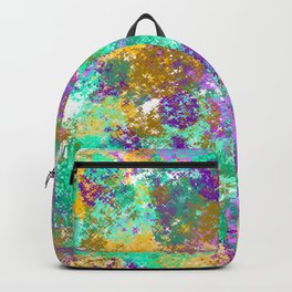 Smudges Abstract Backpack