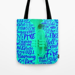 Lyrics & Type - Johnny Cash Tote Bag