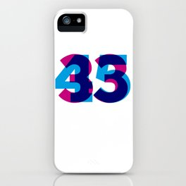 33/45 iPhone Case