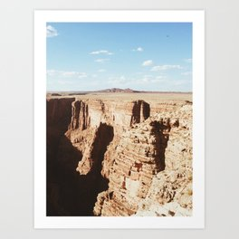 Way out West  Art Print