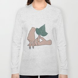A phi alpha sorority sign Long Sleeve T-shirt