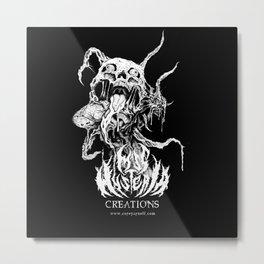 Internalizing Emotion Metal Print