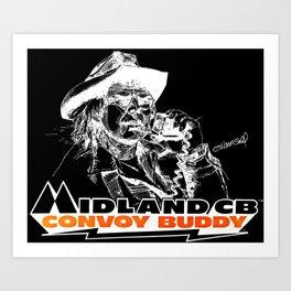 Join the Midland Convoy Art Print