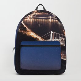 NIGHT TIME IN BUDAPEST Backpack