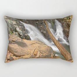 Rose River Falls Rectangular Pillow