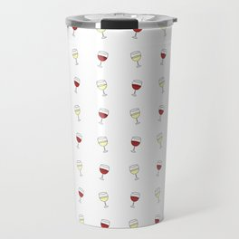 Red Wine, White Wine Travel Mug