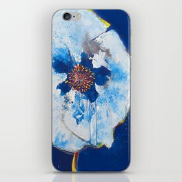 Life in Blue  iPhone Skin