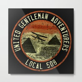 United Gentleman Adventurers Metal Print