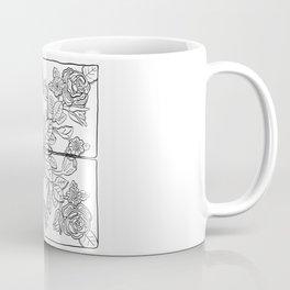 Portuguese Tiles - Line Art Coffee Mug
