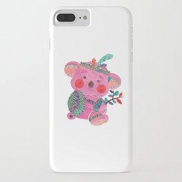 The Pink Koala iPhone Case