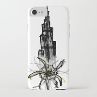 wiz khalifa iPhone & iPod Cases featuring Burj Khalifa by sladja