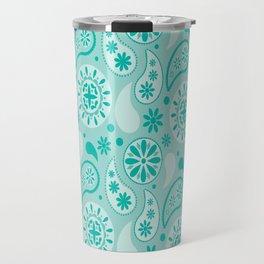 Bohemian Dream in Turquoise Travel Mug