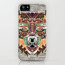 Grr! (Bohemian Bear) iPhone Case