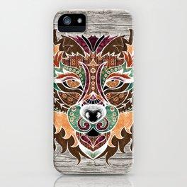 Grr! (Bohemian Bear) iPhone Case