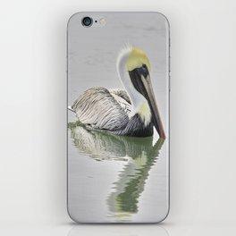 Reflective Pelican iPhone Skin