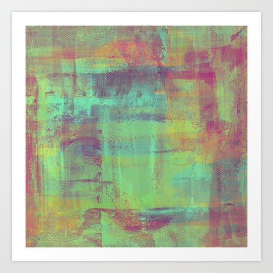 Humility - Mixed Colour Abstract Art Print