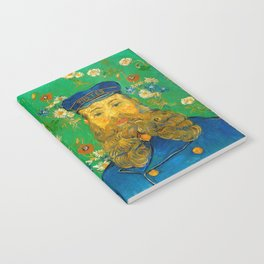 Vincent van Gogh - Portrait of Postman Notebook