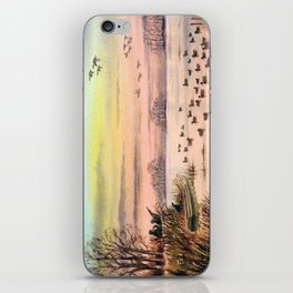 Duck Hunting With Granddad iPhone Skin