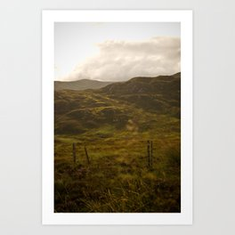 between Inverness and Glasgow Art Print