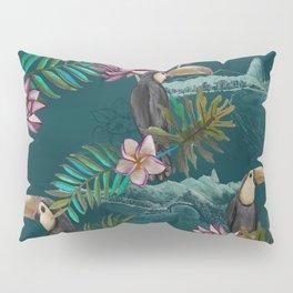 Floresta do Rio de Janeiro Pillow Sham