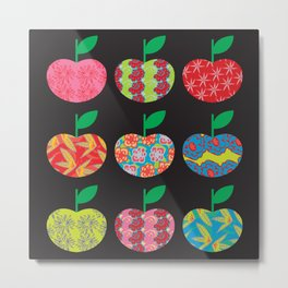 The Apples Metal Print