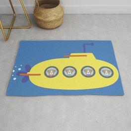 The Beagles - Yellow Submarine Rug